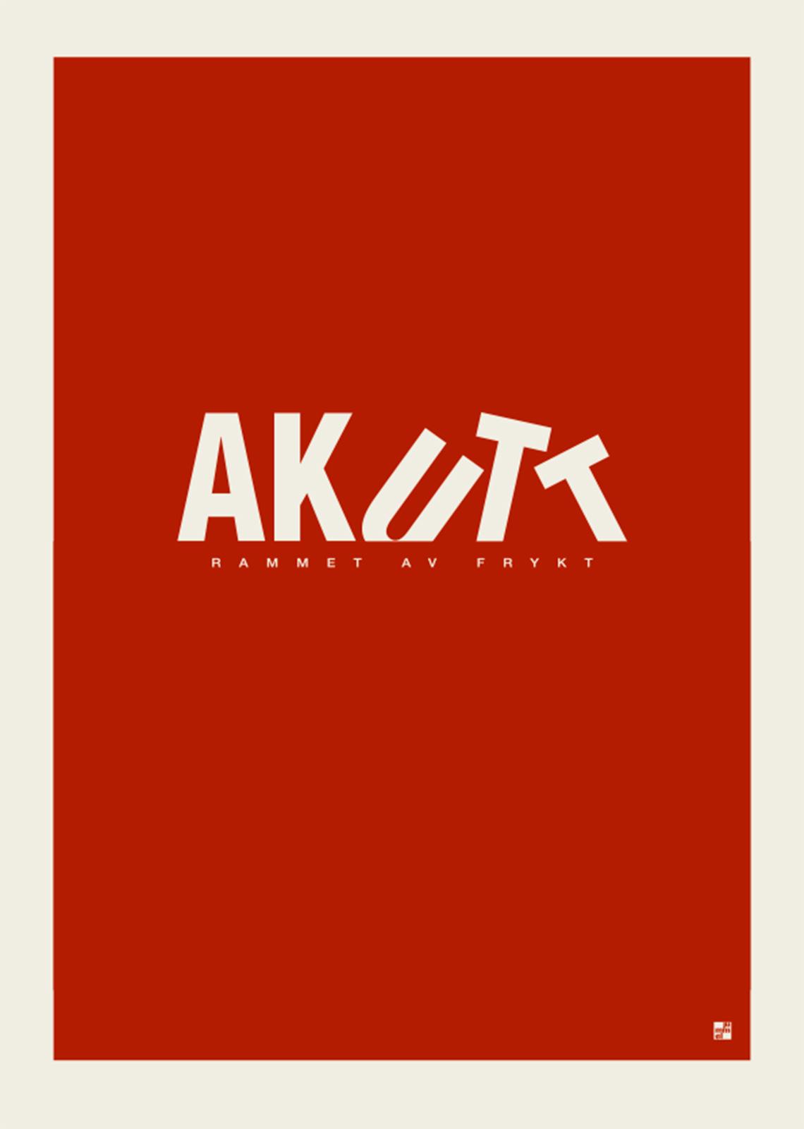 Image of Akutt af Jummel Designstudio