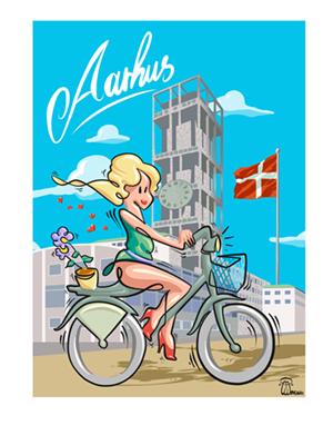 Image of   Aarhuspige af Timmi Mensah