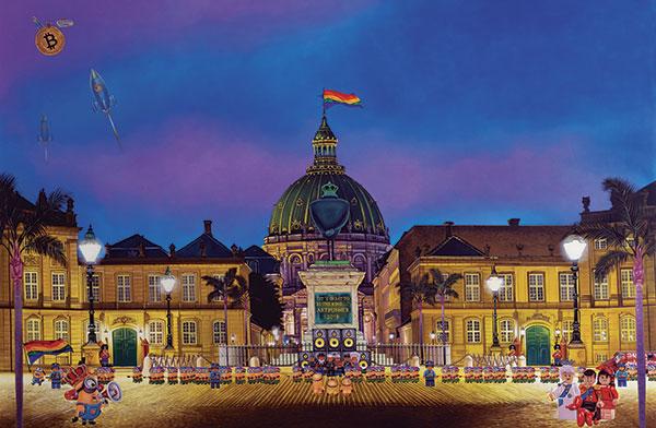 Image of   Amalienborg af Artpusher