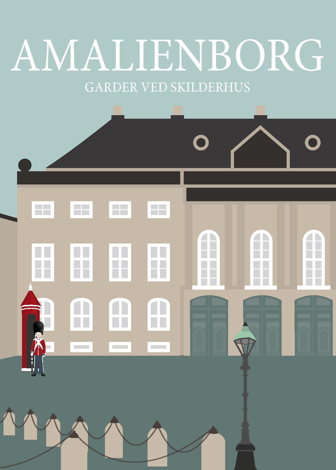 Image of   Amalienborg af Rikke Axelsen