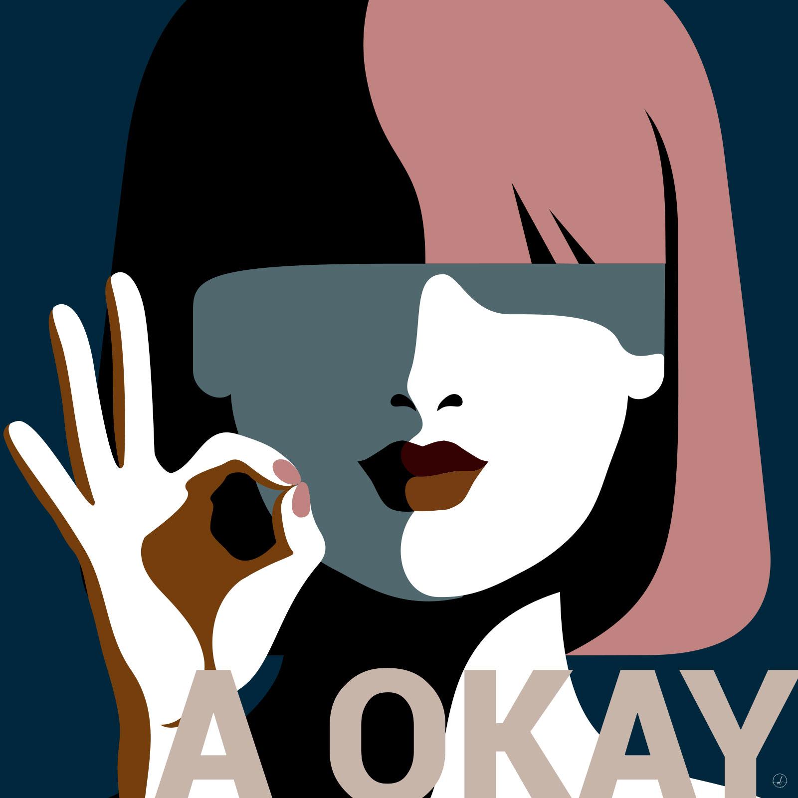 Image of   A Okay af Rikke Axelsen
