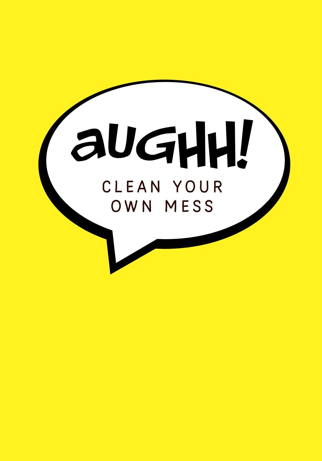 Image of   Aughh your own mess af Ten Valleys