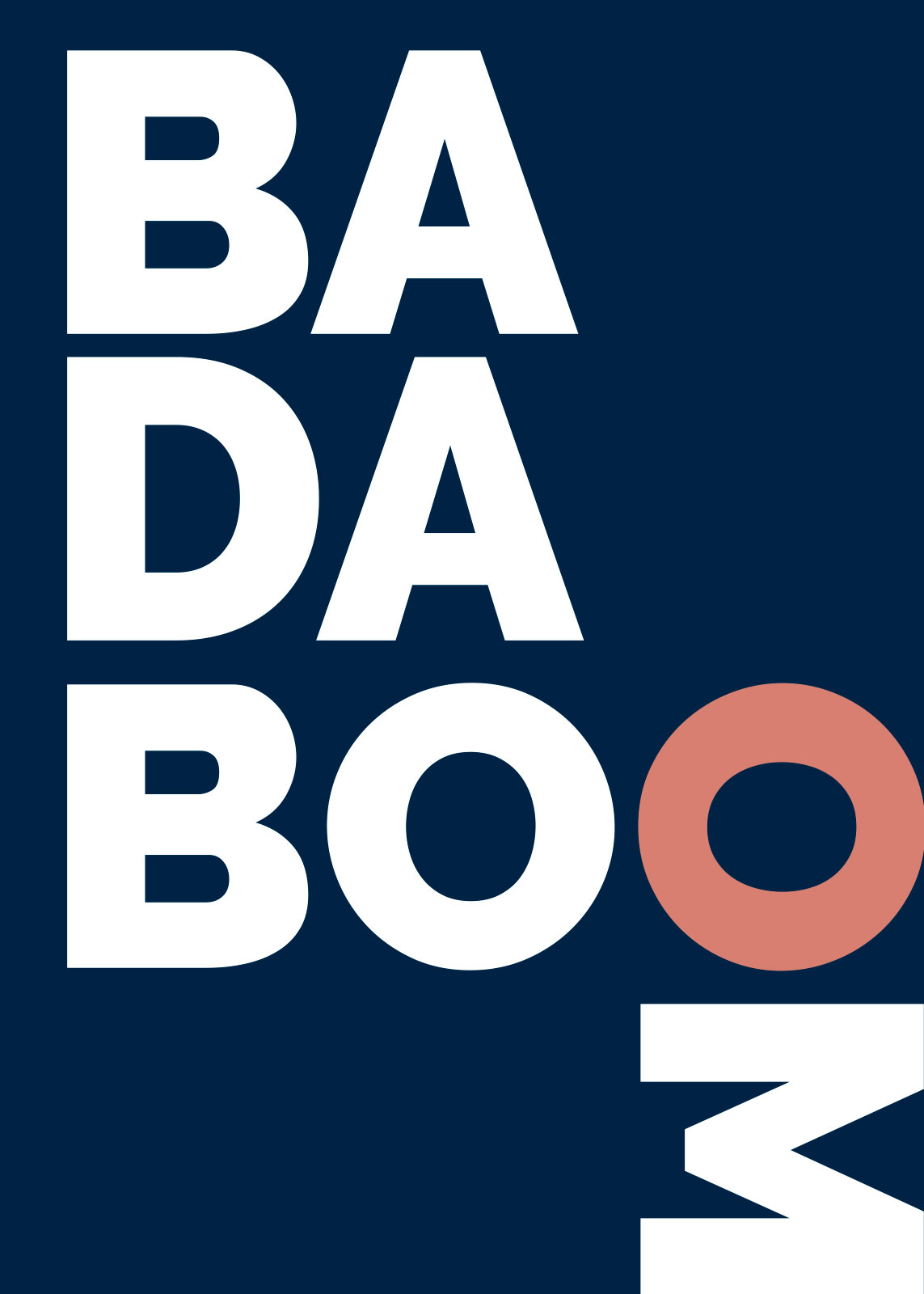 Image of   Badaboom blå af Rikke Axelsen