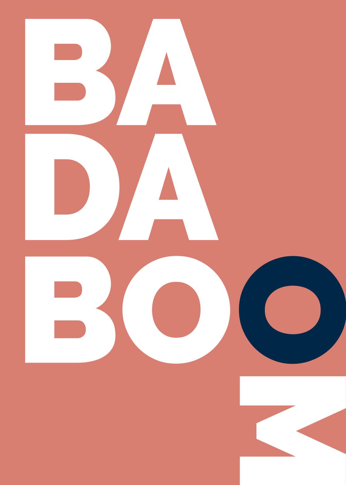 Image of   Badaboom orange af Rikke Axelsen