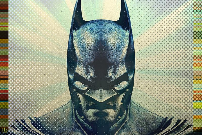 Image of   Batman af Helt Sort