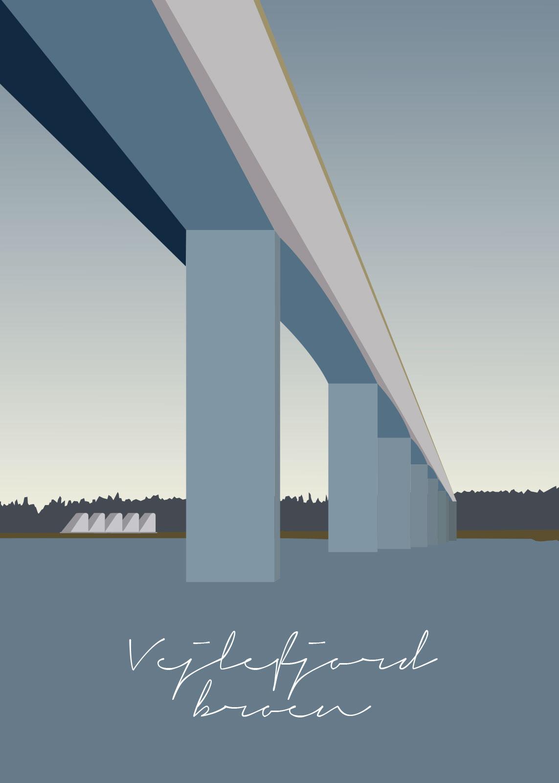 Image of   Vejlefjordbroen af Rikke Axelsen