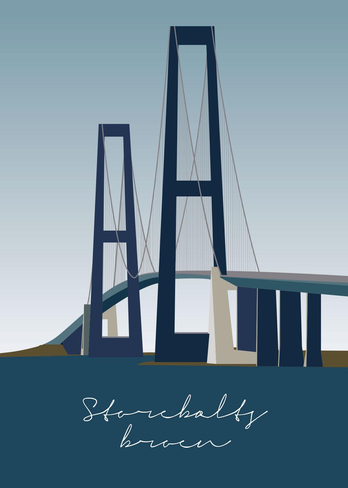 Image of   Storebæltsbroen af Rikke Axelsen