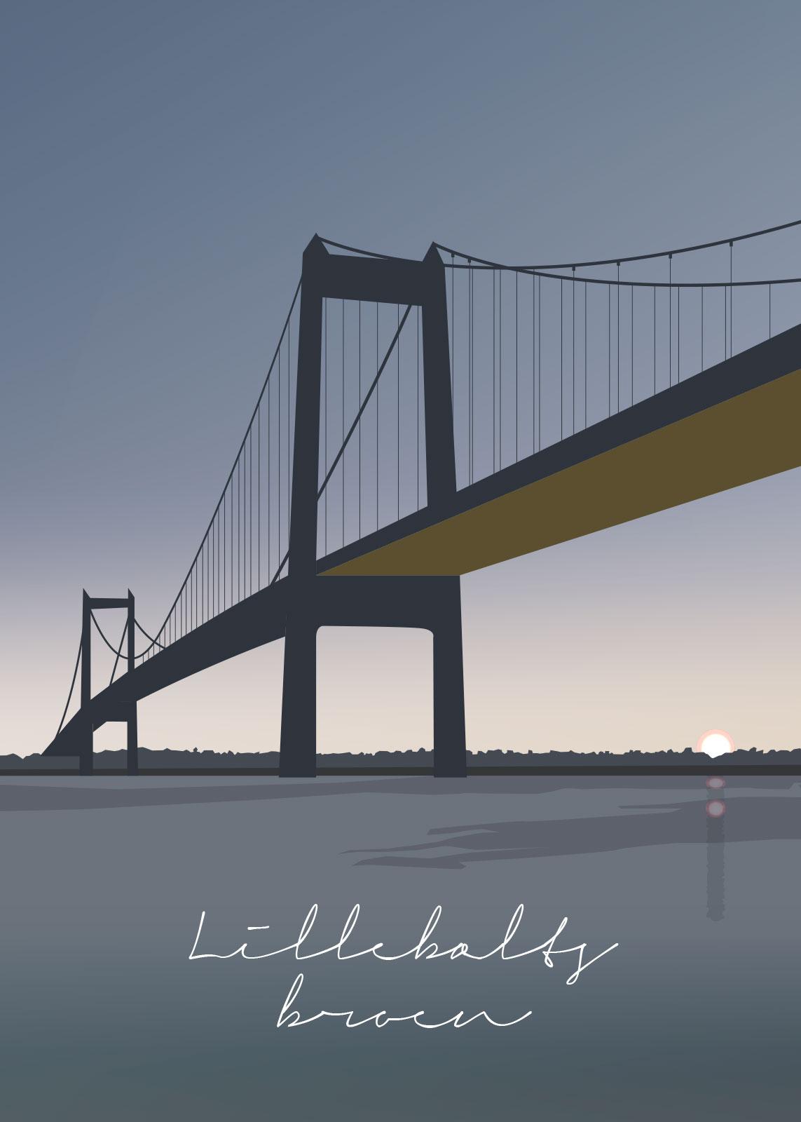 Image of   Lillebæltsbroen af Rikke Axelsen