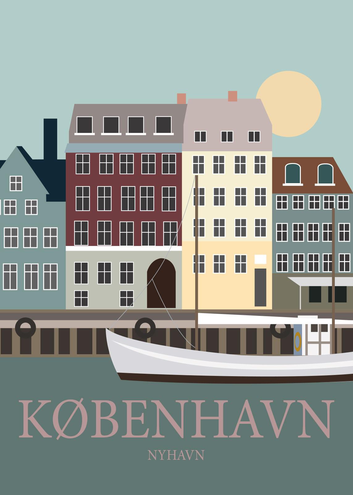 Billede af København af Rikke Axelsen