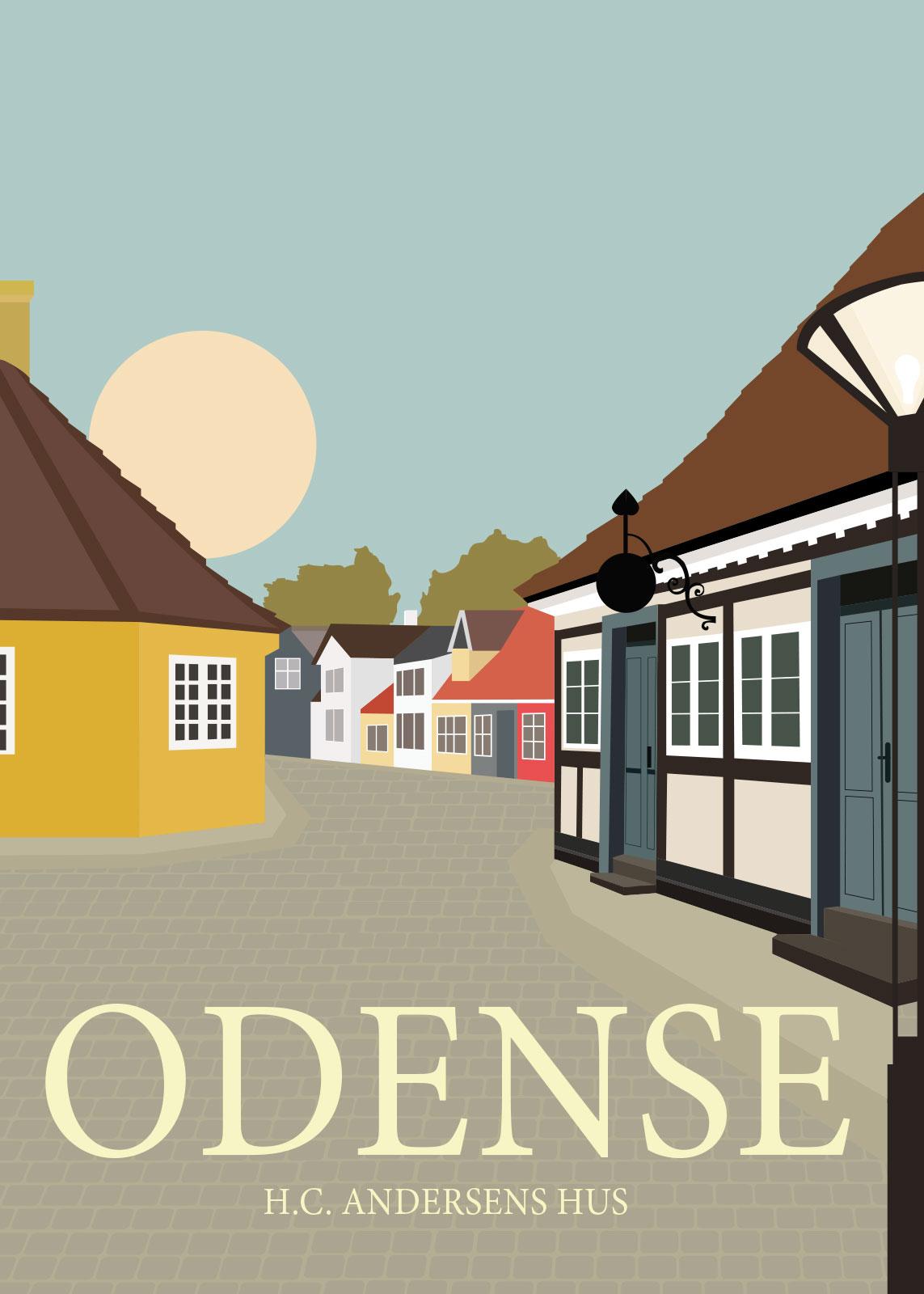 Image of   Odense af Rikke Axelsen