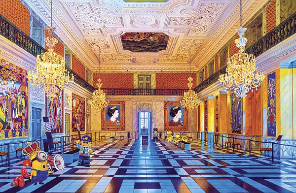 Billede af Christiansborg Slot af Artpusher