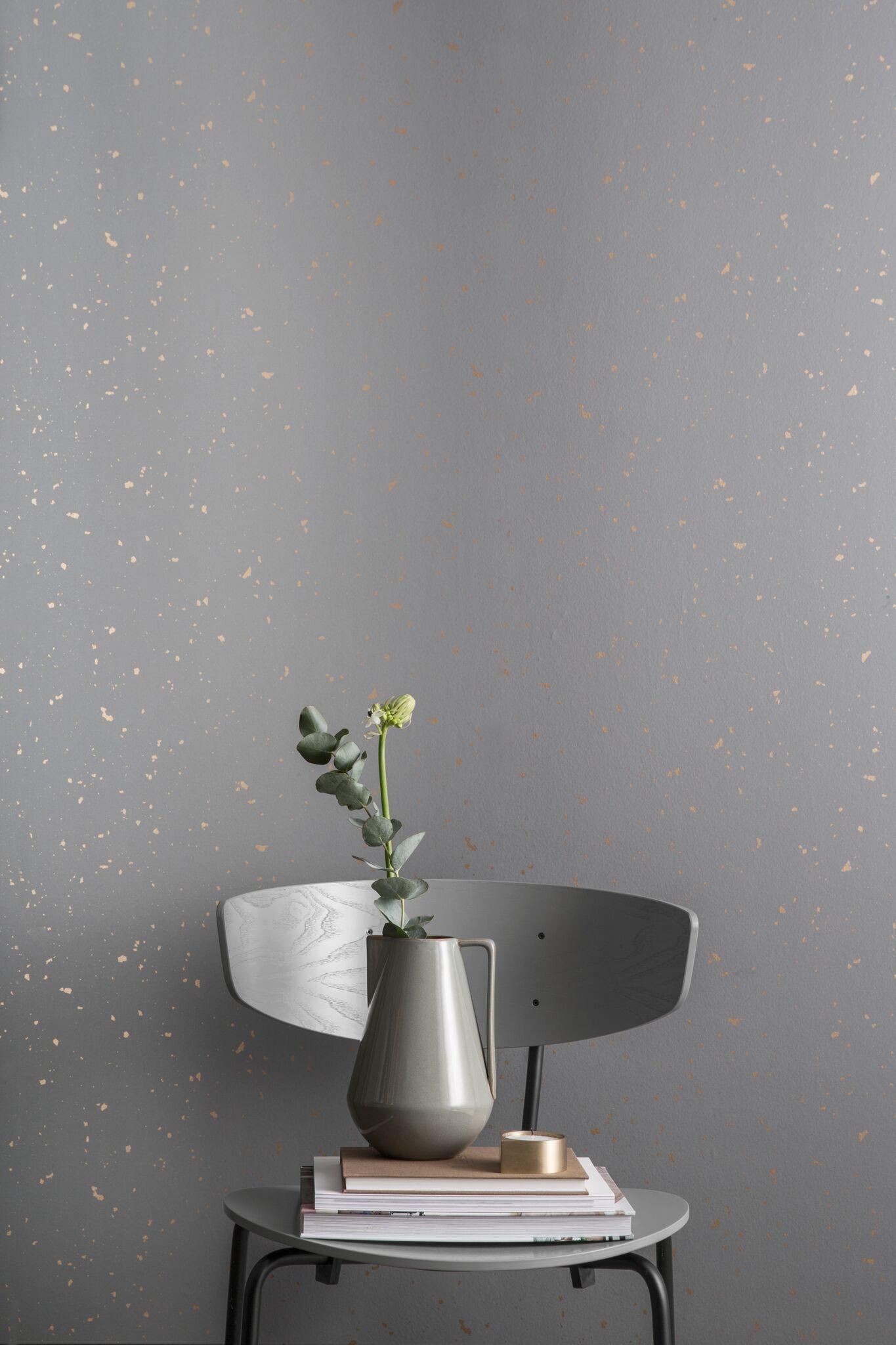 Image of   Confetti, Grey tapet af Ferm Living