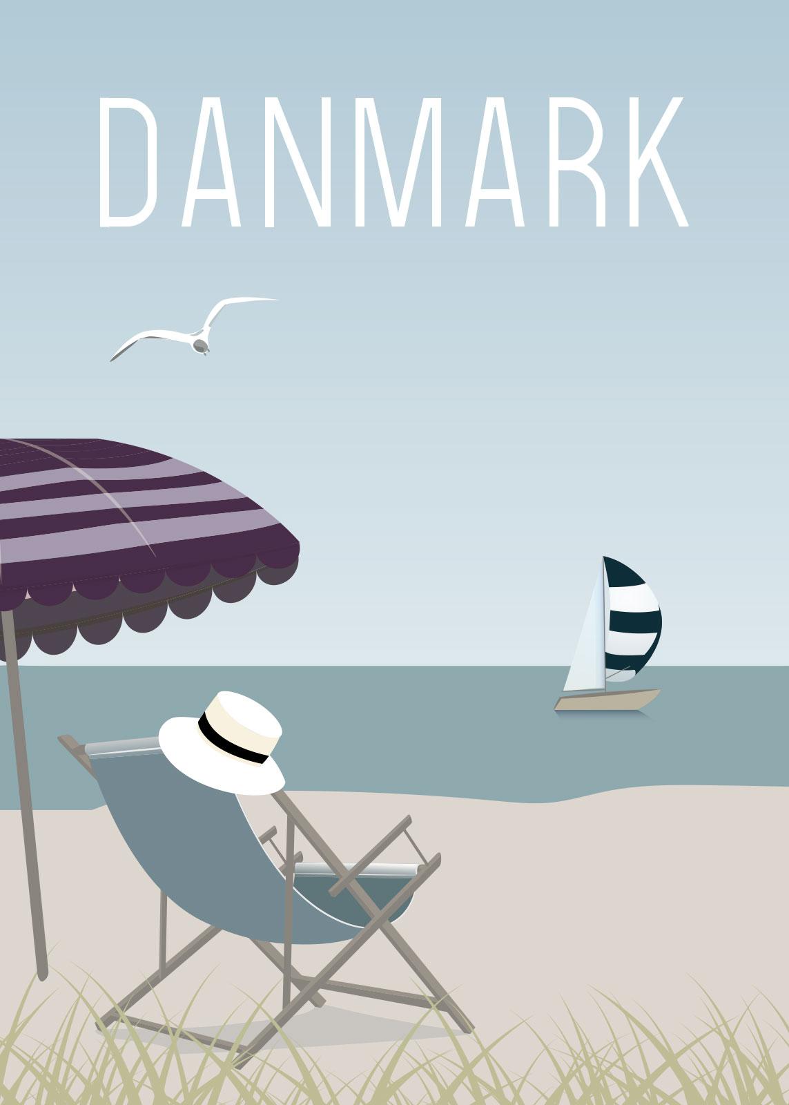 Image of   Badestrand af Rikke Axelsen