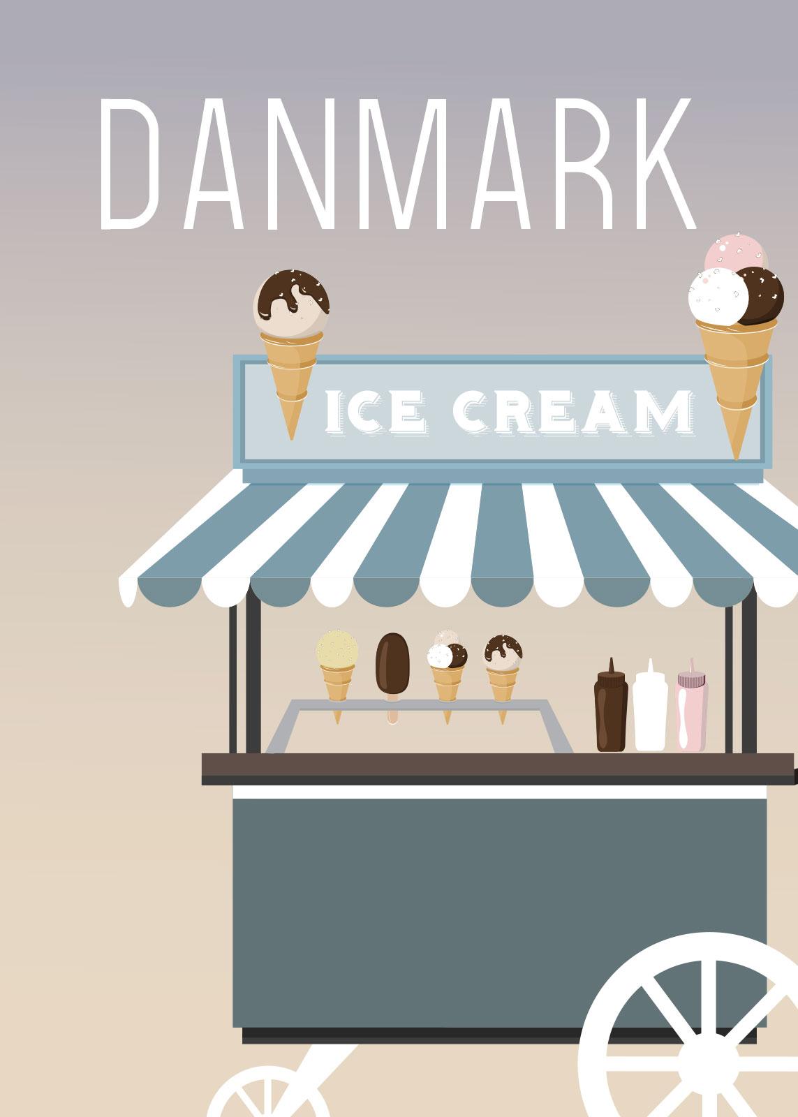 Image of   Ice Cream af Rikke Axelsen
