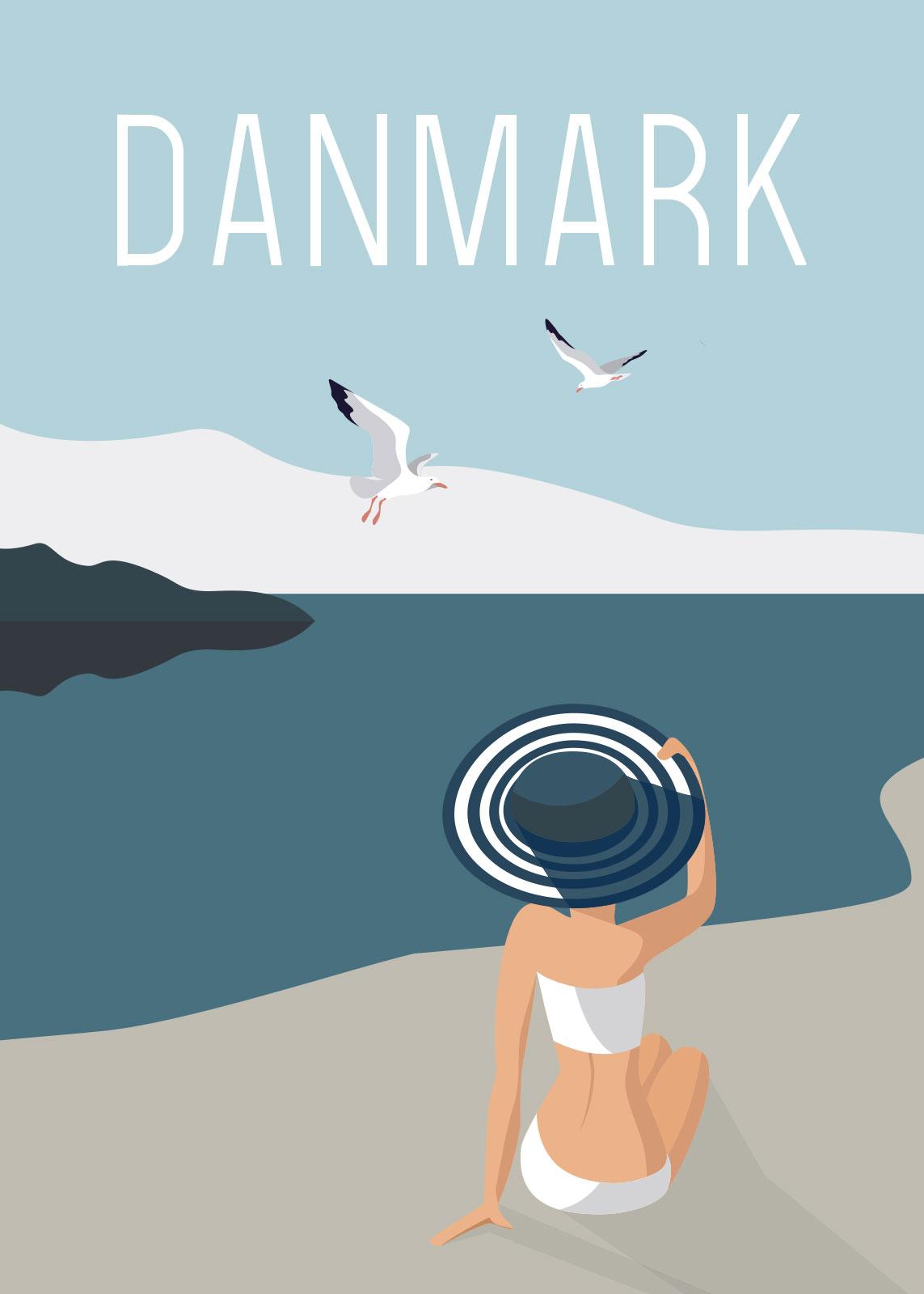 Image of   Strandmåger af Rikke Axelsen