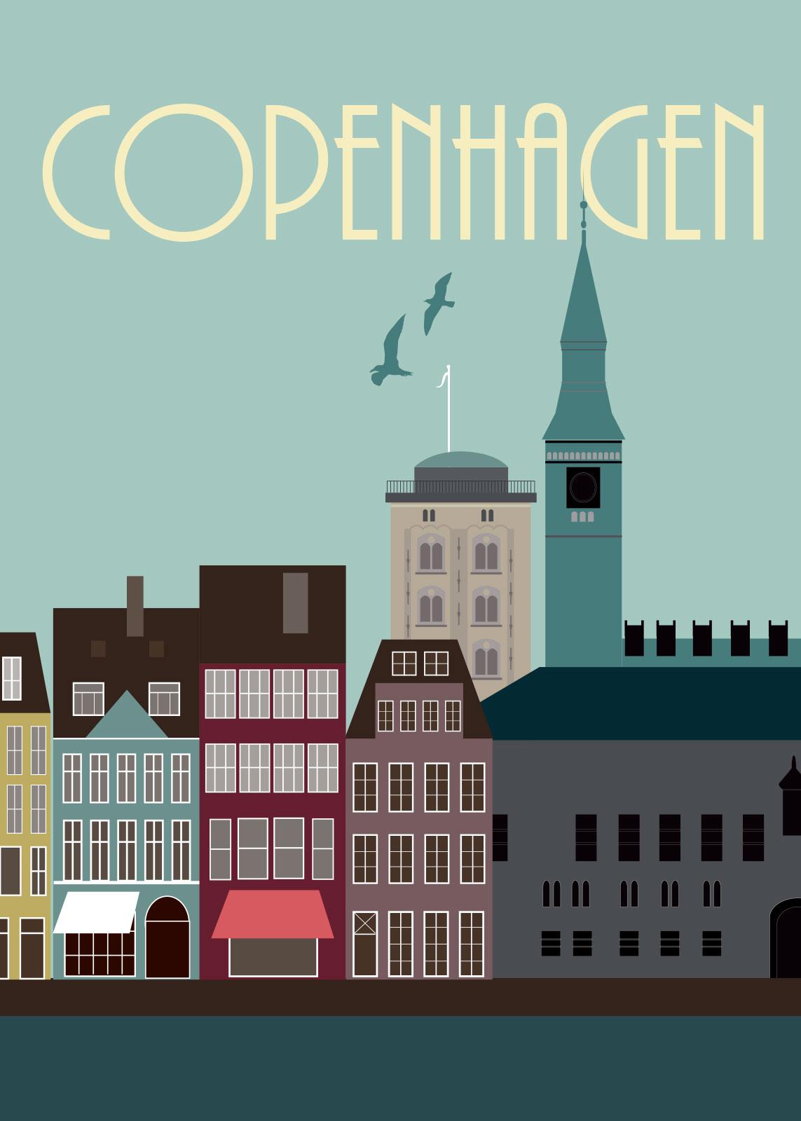 Image of   Copenhagen af Rikke Axelsen