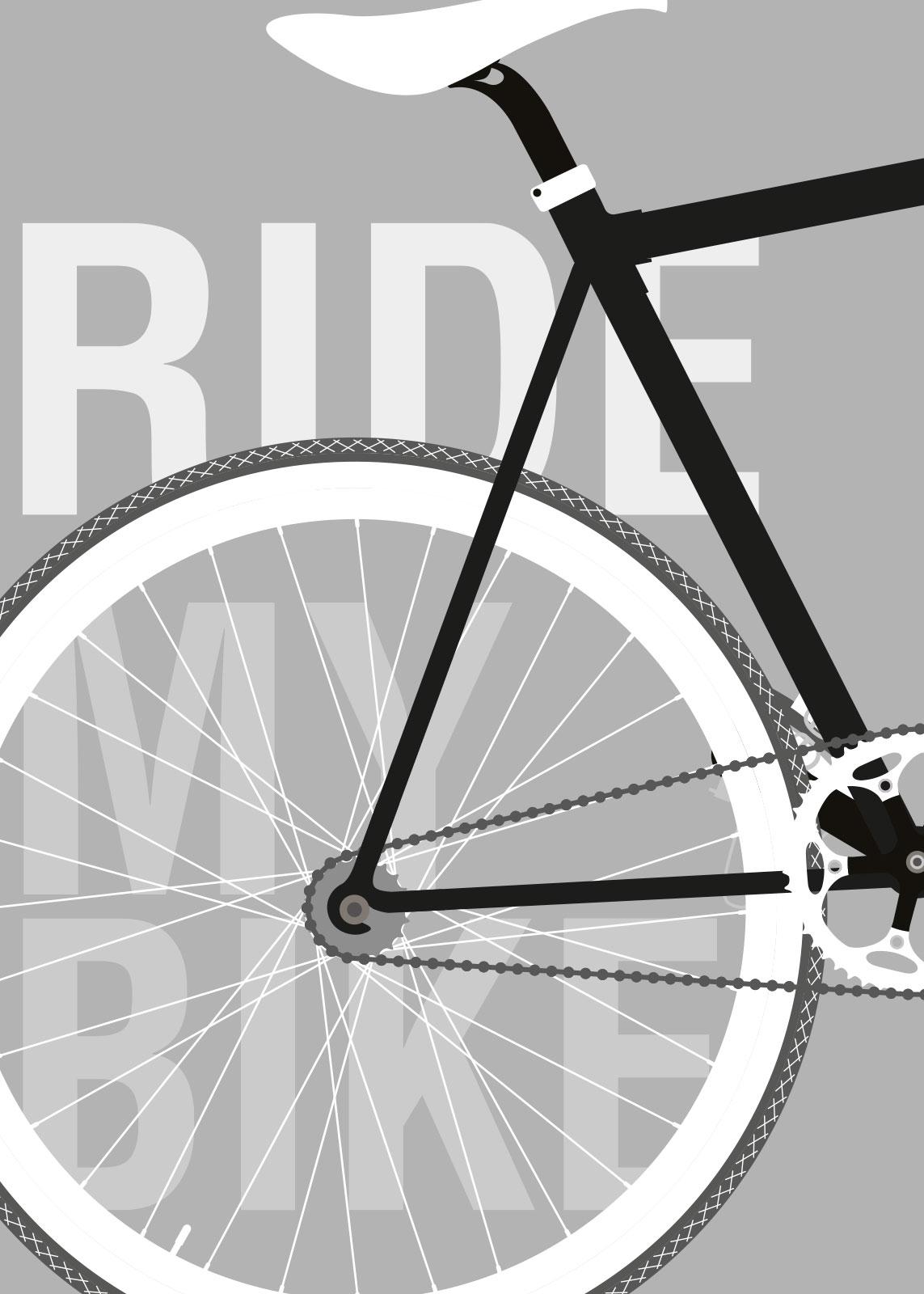 Image of   Ride My Bike af Rikke Axelsen