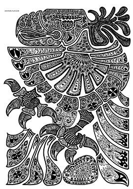 Image of Eagle Fin af Ammar Keylani
