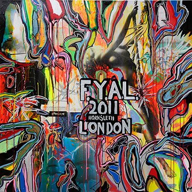 Image of   FYAL London af Hornsleth