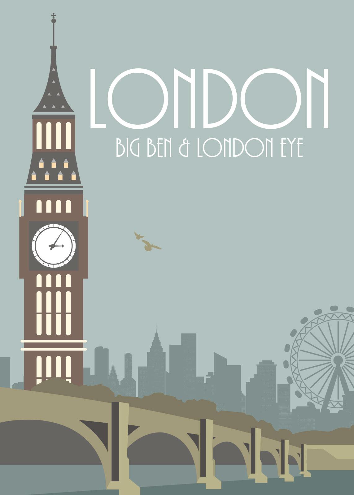 Image of   London af Rikke Axelsen