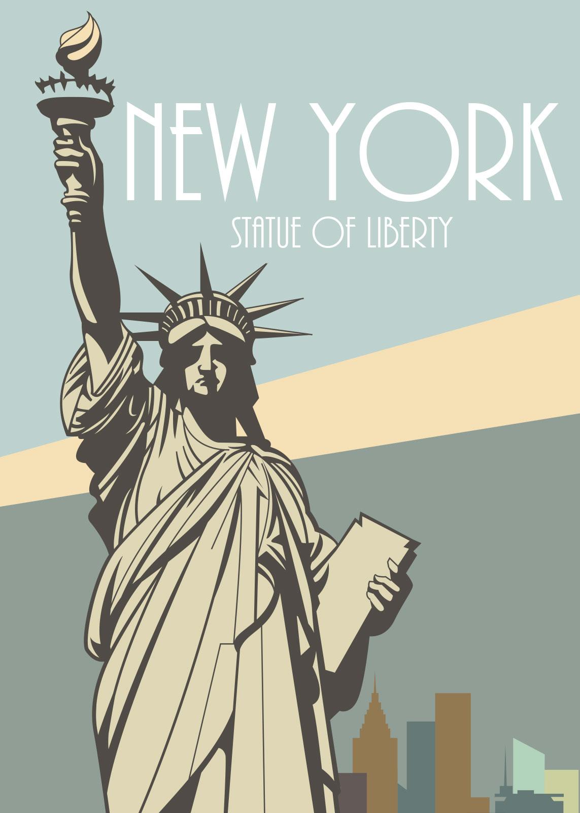 Image of   New York af Rikke Axelsen