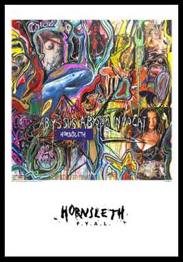 Image of   Abyssus af Hornsleth, Print i glas og ramme, 50x70 cm