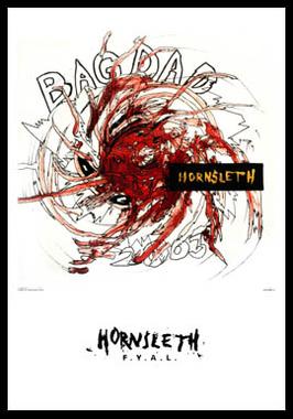 Image of   Bagdad af Hornsleth, Print i glas og ramme, 50x70 cm