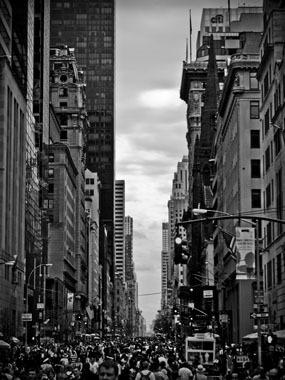 Image of   Busyness of Manhattan af Rasmus Bendixsen