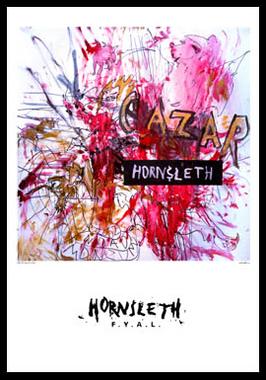 Image of   Cazar af Hornsleth, Print i glas og ramme, 50x70 cm