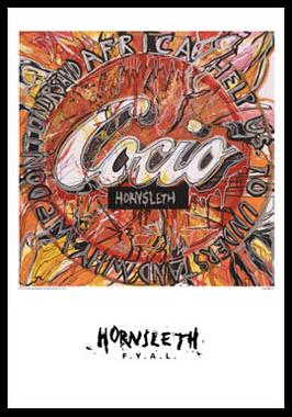 Image of   Cocio af Hornsleth, Print i glas og ramme, 50x70 cm