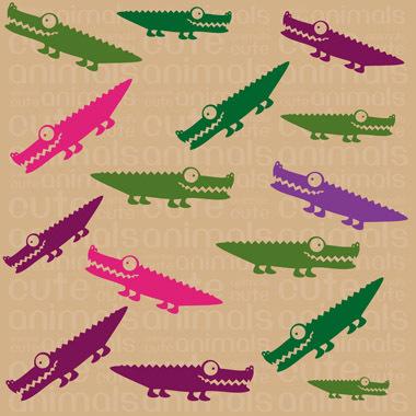 Image of   Crocodile af Illux Kids