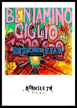 Image of   Designer Fear af Hornsleth, Print i glas og ramme, 50x70 cm