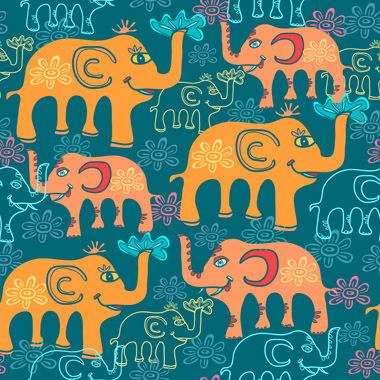 Image of   Elephants 2 af Illux Kids
