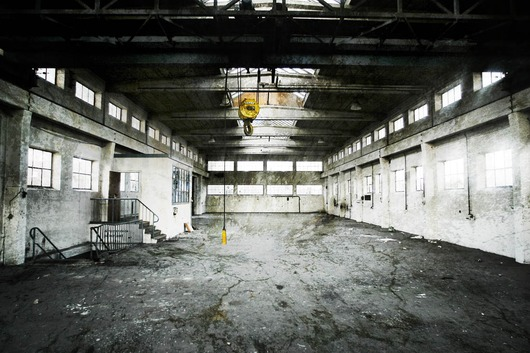 Image of   Fabrikshal af Peter M Madsen
