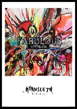 Image of   Fabulous af Hornsleth, Print i glas og ramme, 50x70 cm