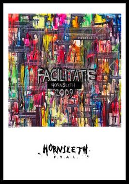 Image of   Facilitate af Hornsleth, Print i glas og ramme, 50x70 cm