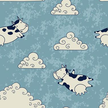 Image of   Flying Cows af Illux Kids
