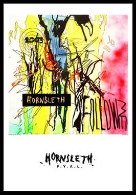 Image of   Follow me af Hornsleth, Print i glas og ramme, 50x70 cm
