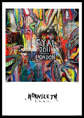 Image of   FYAL London af Hornsleth, Print i glas og ramme, 50x70 cm