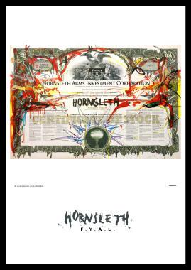 Image of   HAIC af Hornsleth, Print i glas og ramme, 50x70 cm