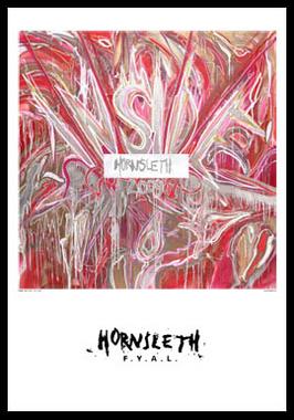 Inside af Hornsleth, Print i glas og ramme, 50×70 cm