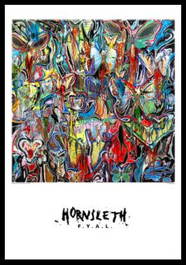 Image of   IWCBAKY B08 af Hornsleth, Print i glas og ramme, 50x70 cm