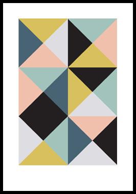 Image of Kant 1 af Alan Smithee, Print i glas og ramme, 50x70 cm