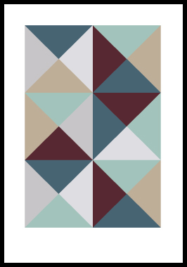 Image of Kant 2 af Alan Smithee, Print i glas og ramme, 50x70 cm