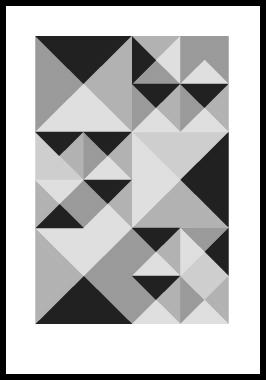 Image of Kant 3 af Alan Smithee, Print i glas og ramme, 50x70 cm