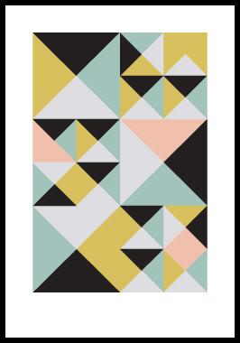 Image of Kant 4 af Alan Smithee, Print i glas og ramme, 50x70 cm