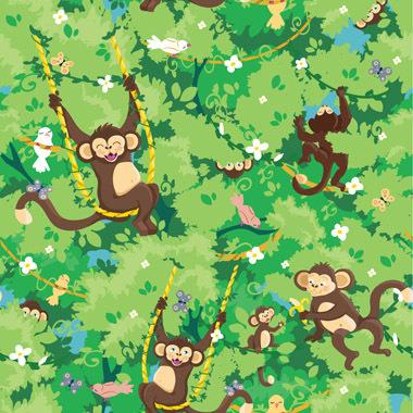 Image of   Monkeys af Illux Kids