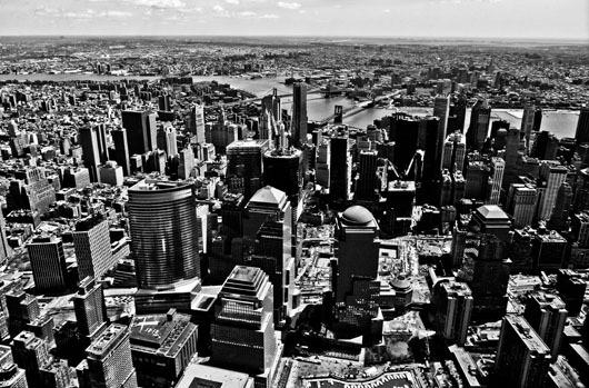 Image of   New York from above af Rasmus Bendixsen