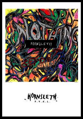 Image of   Nothing af Hornsleth, Print i glas og ramme, 50x70 cm