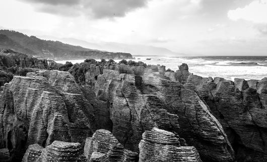 Image of   Pancake Rocks af Rasmus Bendixsen